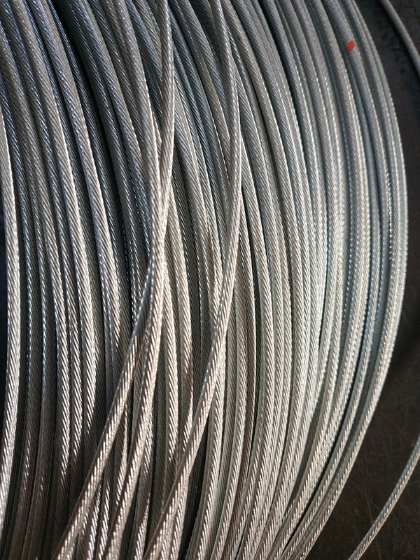 1x19 structural steel wire rope
